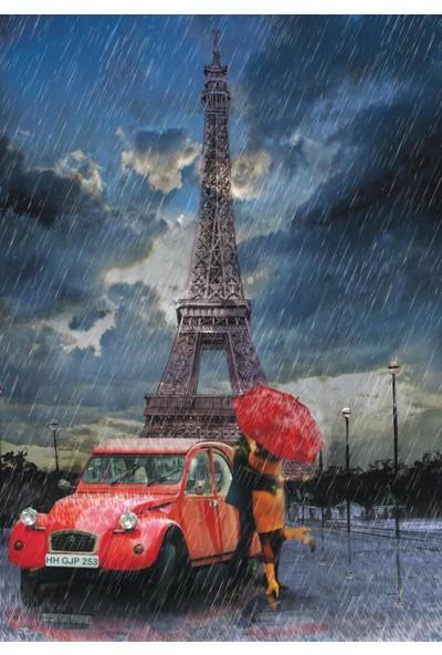 Yappuzz Yappuz Paris'te Aşk 1000 Parça Yapılmış Puzzle