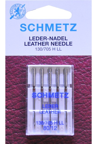 Schmetz 12 Numara Ev Tipi Dikiş Makine Deri Iğnesi
