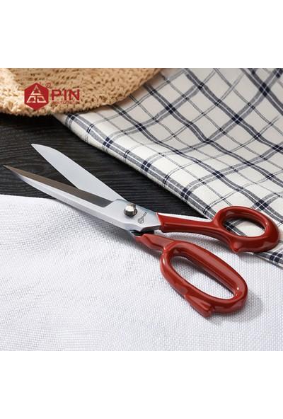 Brt 9 Kırmızı Saplı Terzi, Tekstil, Modelist ve Ev Makası 9 Inç
