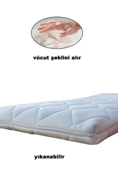 Temosan Uyku Setli Yataklı Dıştan Sallanır Çekmeceli Beşik