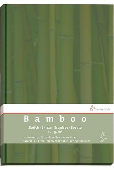 Hahnemühle Bamboo Çizim Defteri Düz Sert Kapak 105G 64 Yaprak A5