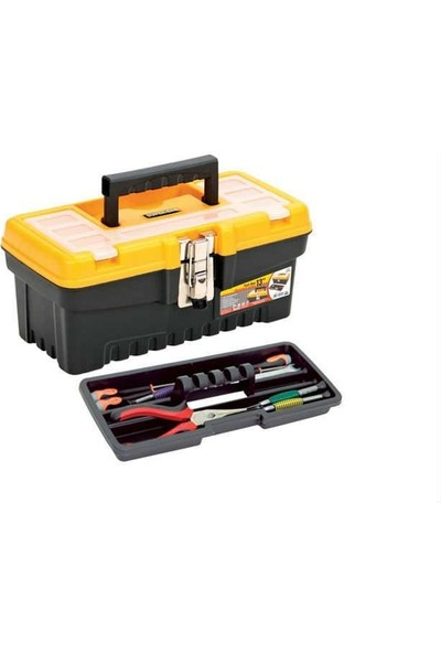 Hitfoni 13 Inç Metal Kilitli Alet Çantası ASR-2075