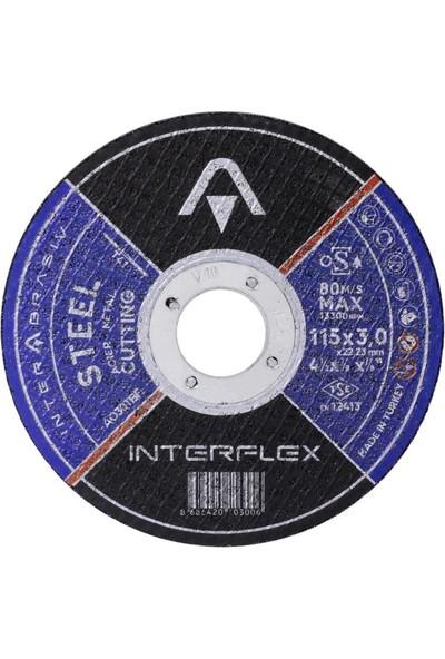 Badem10 75 Parça Avuç İçi Spiral Taşlama Cırt Zımpara Ahşap Flap İnox Metal Kesici Kesme Diski Seti 115 mm