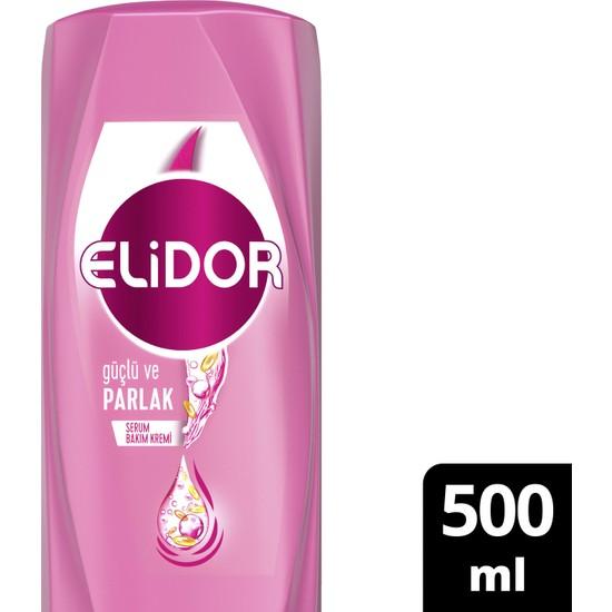 Elidor Superblend Serum Bakım Kremi Güçlü ve Parlak Saçlar Vitamin E Macamadia Yağı Keratin 500 ML