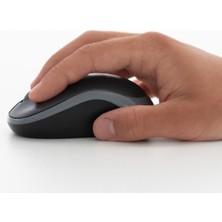 Logitech M185 USB Alıcılı Kompakt Kablosuz Mouse - Gri
