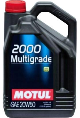 Motul 2000 Multigrade 20W-50 4 Lt Motor Yağı (Üretim Yılı: 2021)