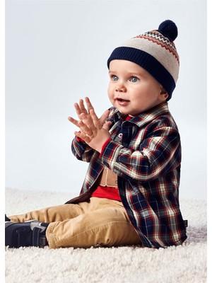 Mayoral Erkek Bebek Kürk Astarlı Gömlek