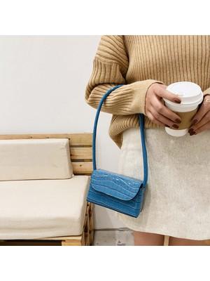 Hong Store Kadınlar Moda Omuz Çantası Çanta Tüm Maç Messenger Çanta
