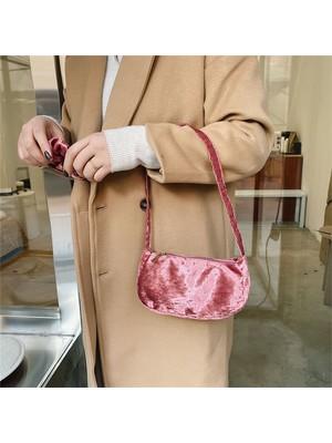 Hong Store Kadınlar Moda Omuz Çantası Koltuk Altı Çanta Tüm Maç Çanta (Yurt Dışından)