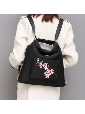 Hong Store Nakış Moda Kova Çanta Tote Omuz Crossbody Çanta Kadın Kızlar Için 4 Adet (Yurt Dışından)