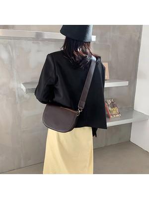 Hong Store Kadın Modası Tek Omuz Çanta Tüm Maç Messenger Çanta (Yurt Dışından)