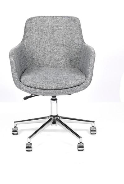 Dağ Ofis Dağofis Salta Çalışma Koltuğu Krom Alt Takım ve Tekerlekli | Ofis Koltuğu | Ofis Sandalyesi | Çalışma Sandalyesi | Bilgisayar Sandalyesi