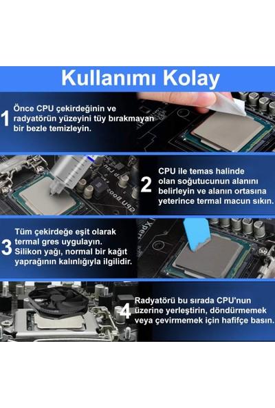Ultra Büyük Boy HY-510 35gr 1.93 W/m.k Termal Macun Cpu Soğutma Pastası Thermal Paste CPU GPU PS4 PS3 PC