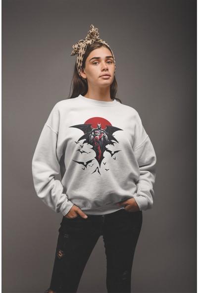 Grif Kadın Reaper Baskılı Sweatshirt