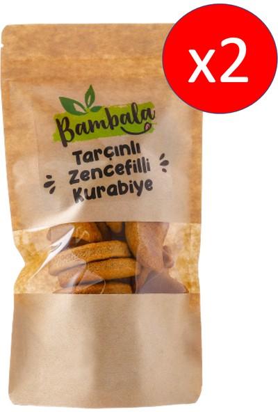 Bambala Zencefilli- Tarçınlı Kurabiye 125 Gx2