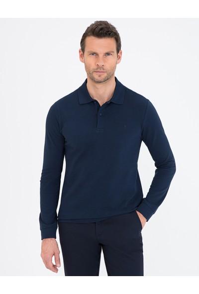 Pierre Cardin Lacivert Slim Fit Sweatshirt 50241551-VR033