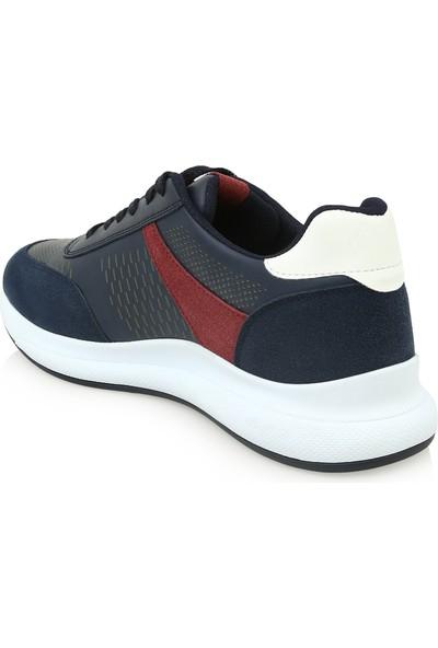Hotiç 02AYH219360A680 Lacivert Erkek Ayakkabı