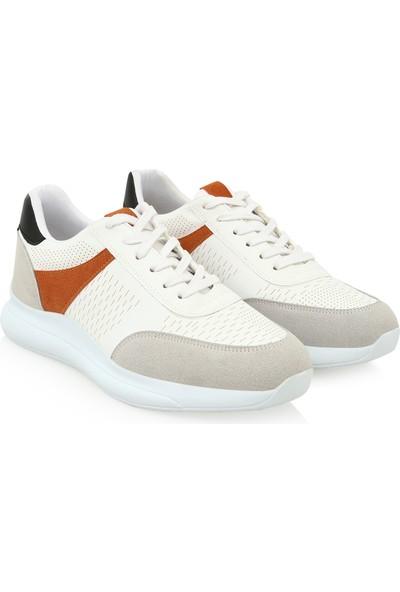 Hotiç 02AYH219360A900 Beyaz Erkek Ayakkabı