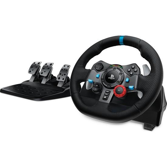 Logitech G G29 PS5, PS4 ve PC ile Uyumlu Driving Force Yarış Direksiyonu - Siyah