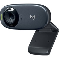 Logitech C310 HD 720p Web Kamerası - Siyah