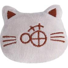 Hong Store Peluş Kedi Şeklinde Evcil Hayvan Isırma Oyuncağı (Yurt Dışından)