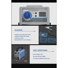 Grusel Excellence Model Super Ultrasonıc 200 Amp Dijital Göstergeli Invertör Kaynak Makinası