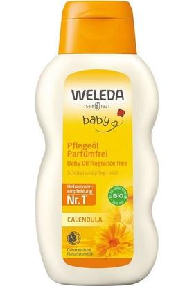 Weleda Calendula Organik Parfümsüz Bebek Yağı 200 ml