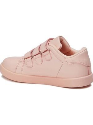 Vicco Filet Işıklı Spor Ayakkabı Pudra