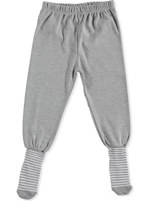 Hello Baby Basic Bebek 2li Çoraplı Pijama Pantolon