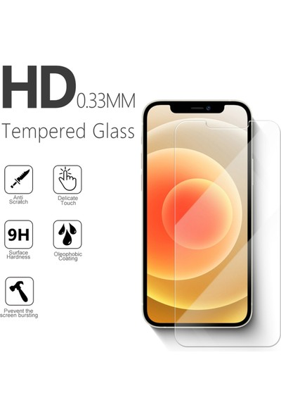 Case Markt Honor 7 Temperli 2.5d Ekran Koruyucu Cam