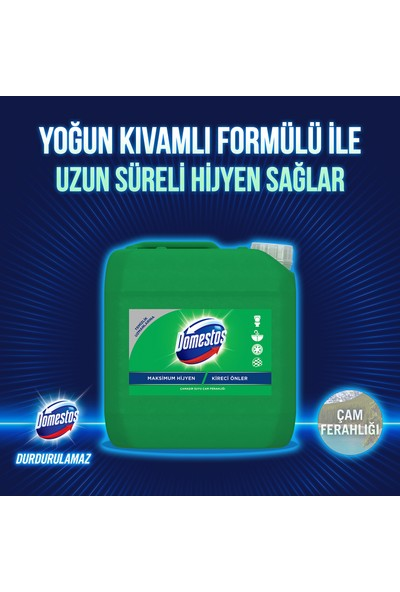 Domestos Çamaşır Suyu Çam Ferahlığı Maksimum Hijyen 3240 ML 1 Adet