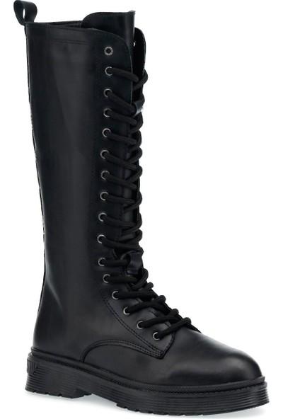 Butigo Mıla 1pr Siyah Kadın Çizme
