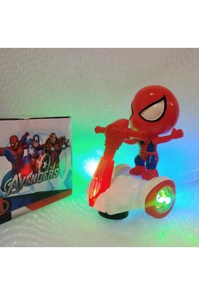 Happy Toys Doğum Gününe Hediyelik Hareketli Işıklı Spıder Scooter