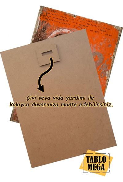Tablomega Şeytani Simgeler Art Mdf Poster