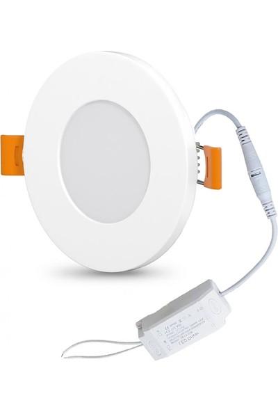 LED Panel Spot Günışığı 3500K 3W 6-8.2cm Aral