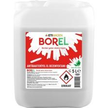 Eti Maden Borel Bor Madeni Katkılı %80 Alkol Bazlı Antibakteriyel El Dezenfektanı 5 Lt