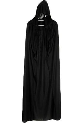 Janjan Kostüm Haloween Kapşon Pelerin Kostüm Cadı