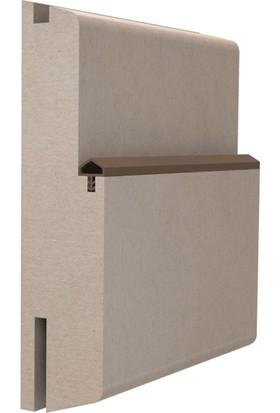 Contacall Ortadan Tırnaklı Çatı Fitil 10 mm Ahşap Amerikan Panel Kapı Fitili 100 M Krem