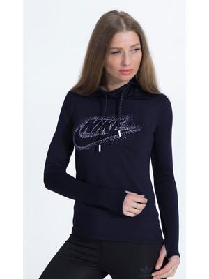 Nike Şallı 2 Iplik Lacivert Kadın Badi