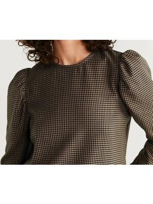 Mango Kadın Desenli Bluz