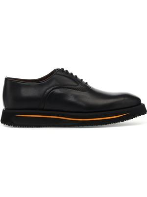 İnci Cross.m 1pr(Deri) Siyah Erkek Klasik Ayakkabı