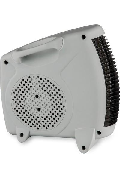 Raks Pf 20 Lotus Beyaz Elektrikli Fanlı Isıtıcı