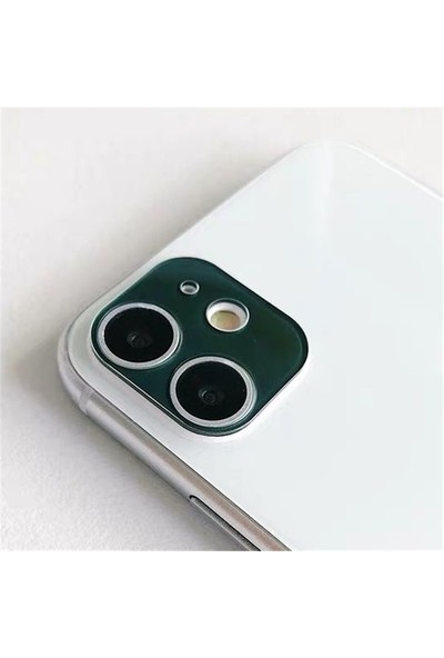 Carino Iphone 11 Koyu Yeşil Için 9d Koruyucu Film Temperli Cam (Yurt Dışından)