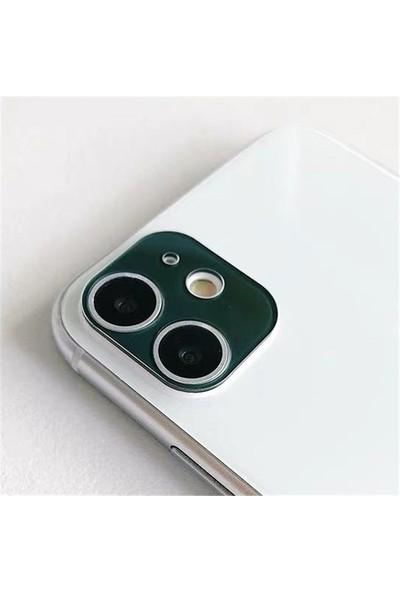 Carino 9d Koruyucu Film Temperli Cam iphone 12 Mini Koyu Yeşil (Yurt Dışından)