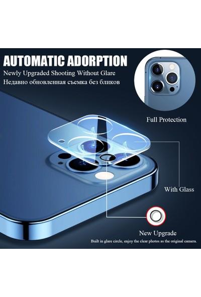 Carino Tam Kapak Kamera Lens Koruyucusu 3 Parça Üzerinde iphone 13PRO Max (Yurt Dışından)