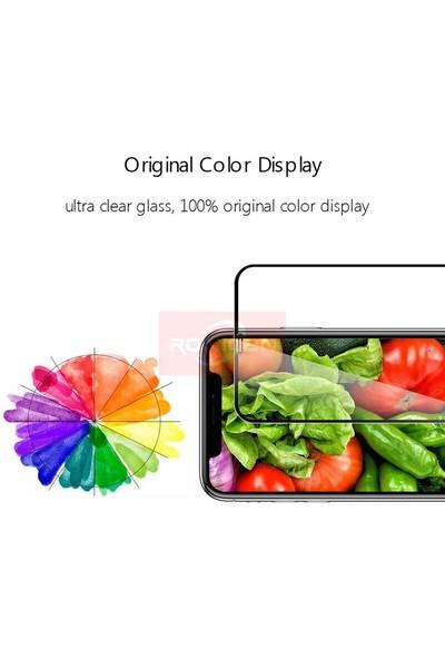 Carino Iphone x Xs Siyah Için Tam Kapak Temperli Cam (Yurt Dışından)