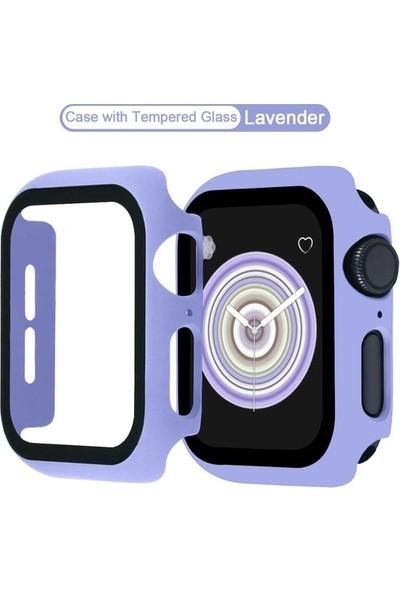 Carino Temperli Cam Ekran Koruyucu Apple Izle 42MM Mor (Yurt Dışından)