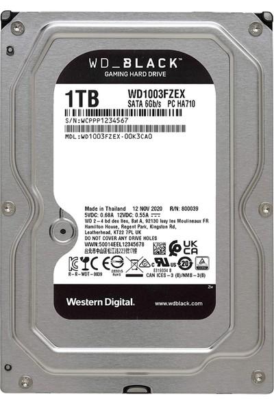 "Western Digital 1tb Wd Black Performance Internal 64 MB Cache 7200 Rpm 3.5"" HDD WD1003FZEX"