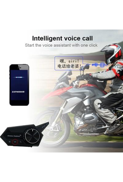 Sprotauto Motosiklet Kask Kulaklık Motosiklet Kablosuz Bluetooth (Yurt Dışından)