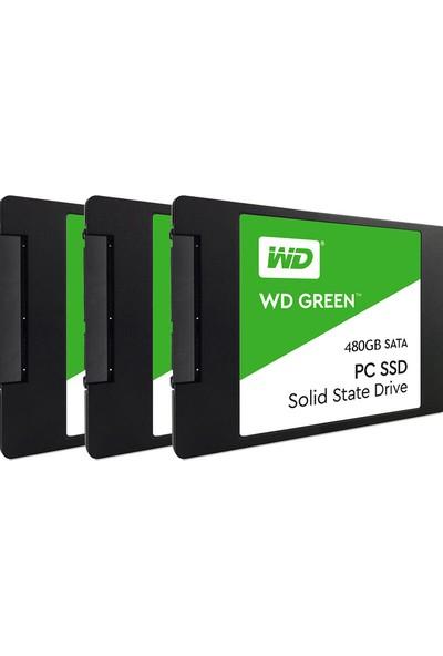 Wd Green 480GB Pc SSD Sata 6gb / Sn 2.5 Inç Sürücü (Yurt Dışından)
